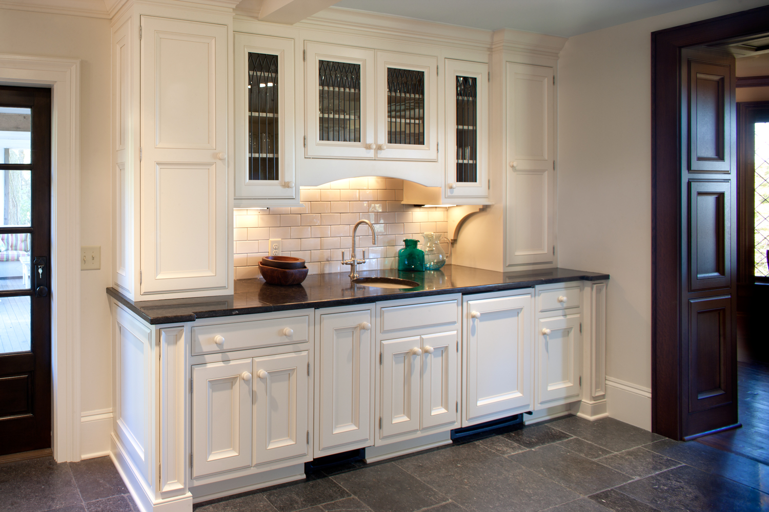 Custom cabinetry carried by beck allen cabinetry interior design center of st louis mo - Kitchen design in small space decoration ...