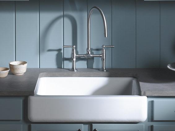 A Timeless Classic Reimagined: Kohler\'s Whitehaven Sink - Interior ...