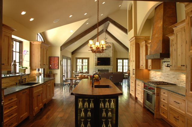 Rustic Kitchen Remodel Captivating Design Spotlight A Rustic Kitchen Remodel  Interior Design . Inspiration