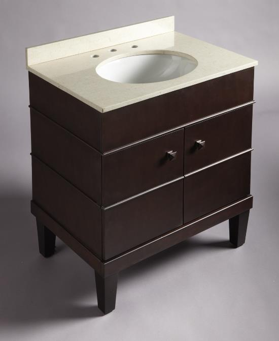 Bathroom Furniture By Kohler: Evandale Three-Piece Vanity - Interior ...