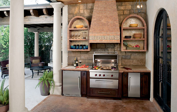 Sub Zero Wolf Outdoor Kitchen