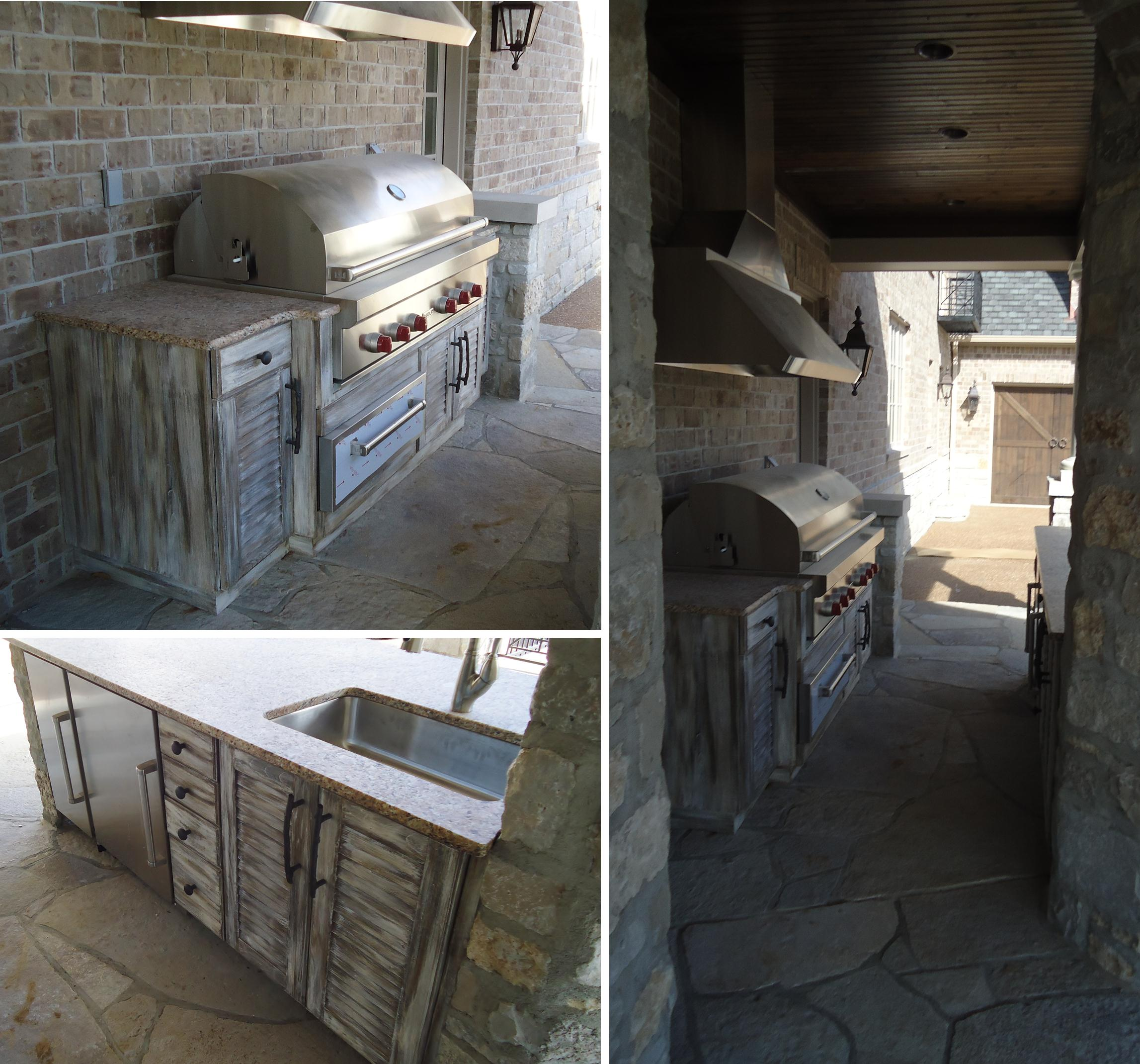 BeckAllen Outdoor Kitchen