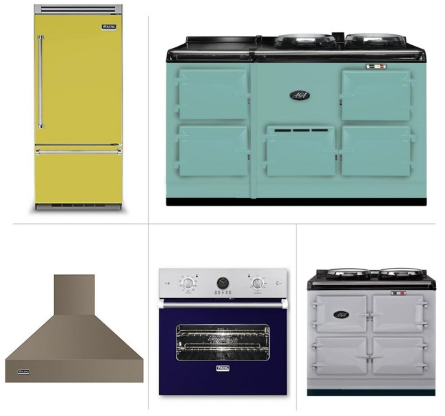 5 Ways To Get Creative With Colorful Kitchen Appliances