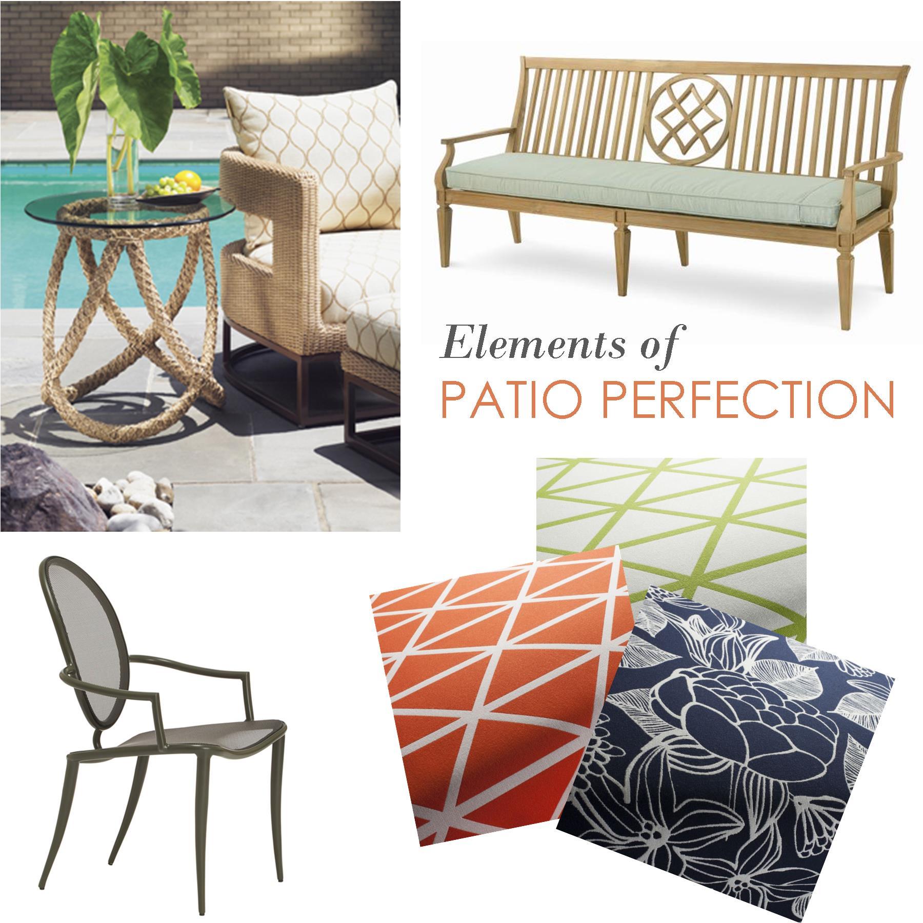 Outdoor Furniture Fabric Bringing Casual Comfort To Outdoor Spaces Interior Design Center