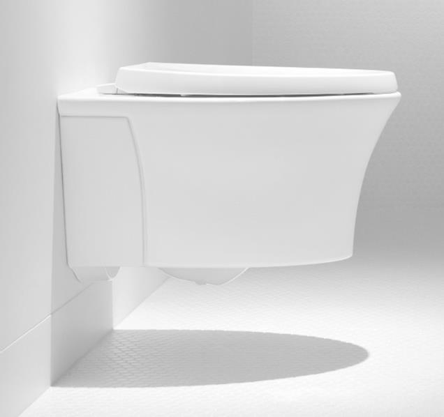 Modern Space Saver Kohler S Veil Wall Hung Toilet