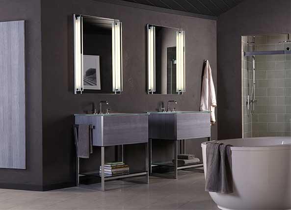 Fashion Forward Bathroom Vanities From Robern Interior Design Center Of St Louis Mo