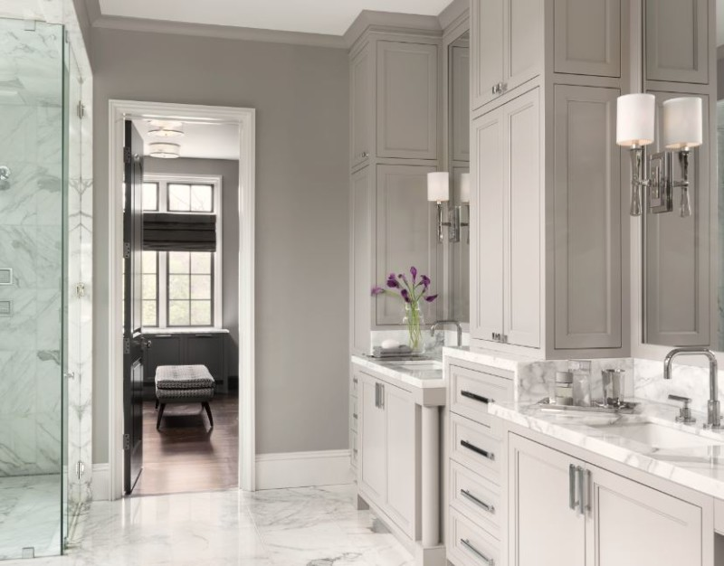 Classic Master Bathroom Design By ADJ Interiors Interior Design Classy Bathroom Design Center