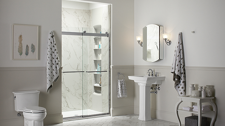 Kohler Choreograph Custom Shower System Interior Design