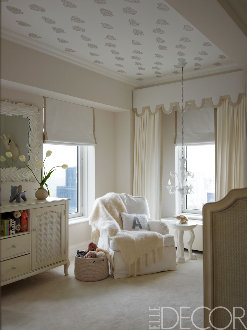 Nursery inspiration elegant alternatives interior for Elle decor nursery
