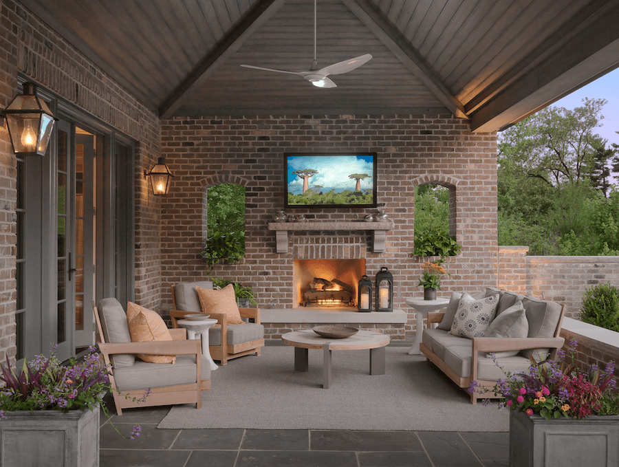 Outdoor Living | Outdoor Hearth Room by Walbrandt Technologies in St. Louis, MO