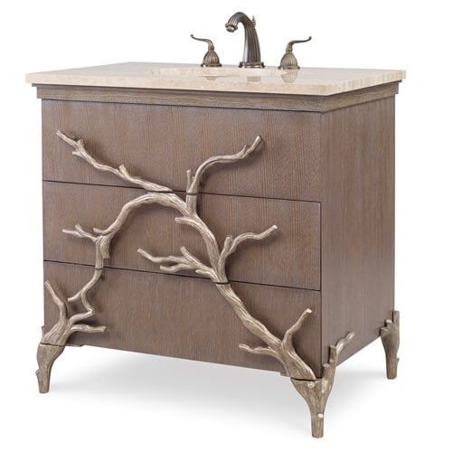 Bathroom Vanity | Branch Sink Chest by Ambella Home