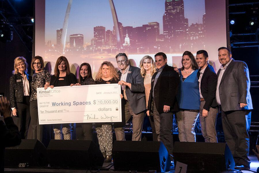 Kimball Office Premier Partner Award Winner   Working Spaces