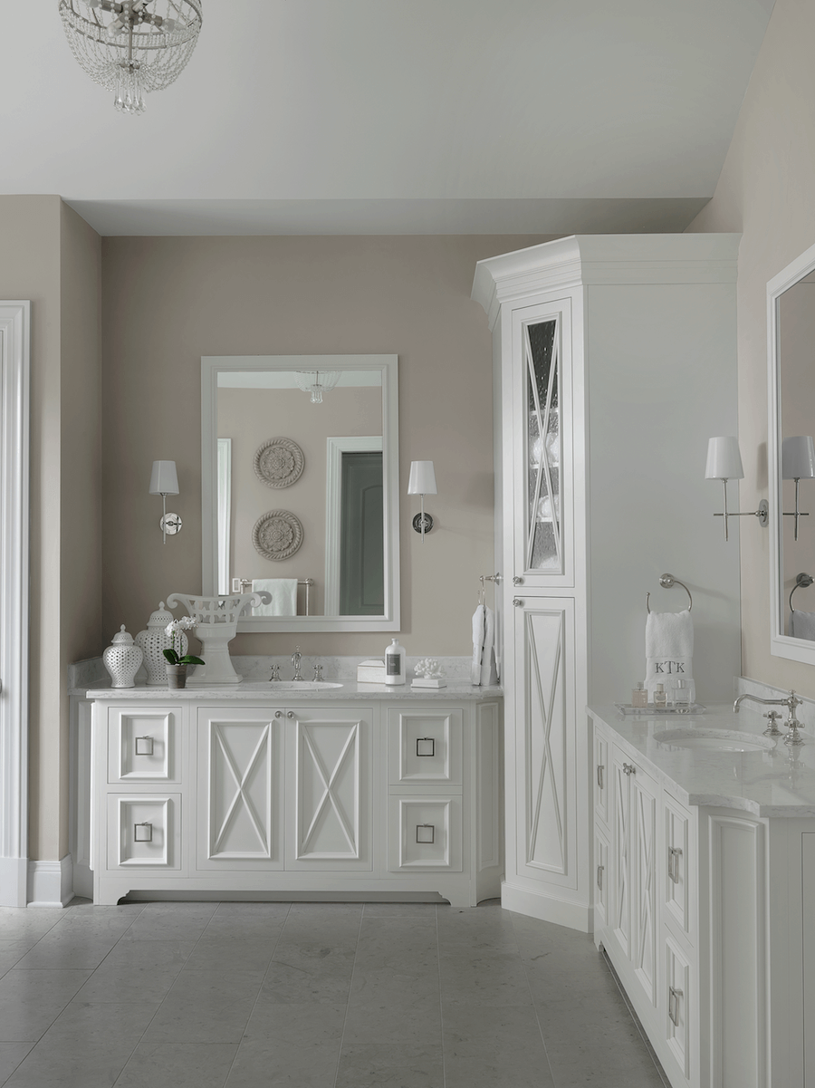 Traditional Master Bathroom | Beck:Allen Cabinetry and Tamsin Design Group