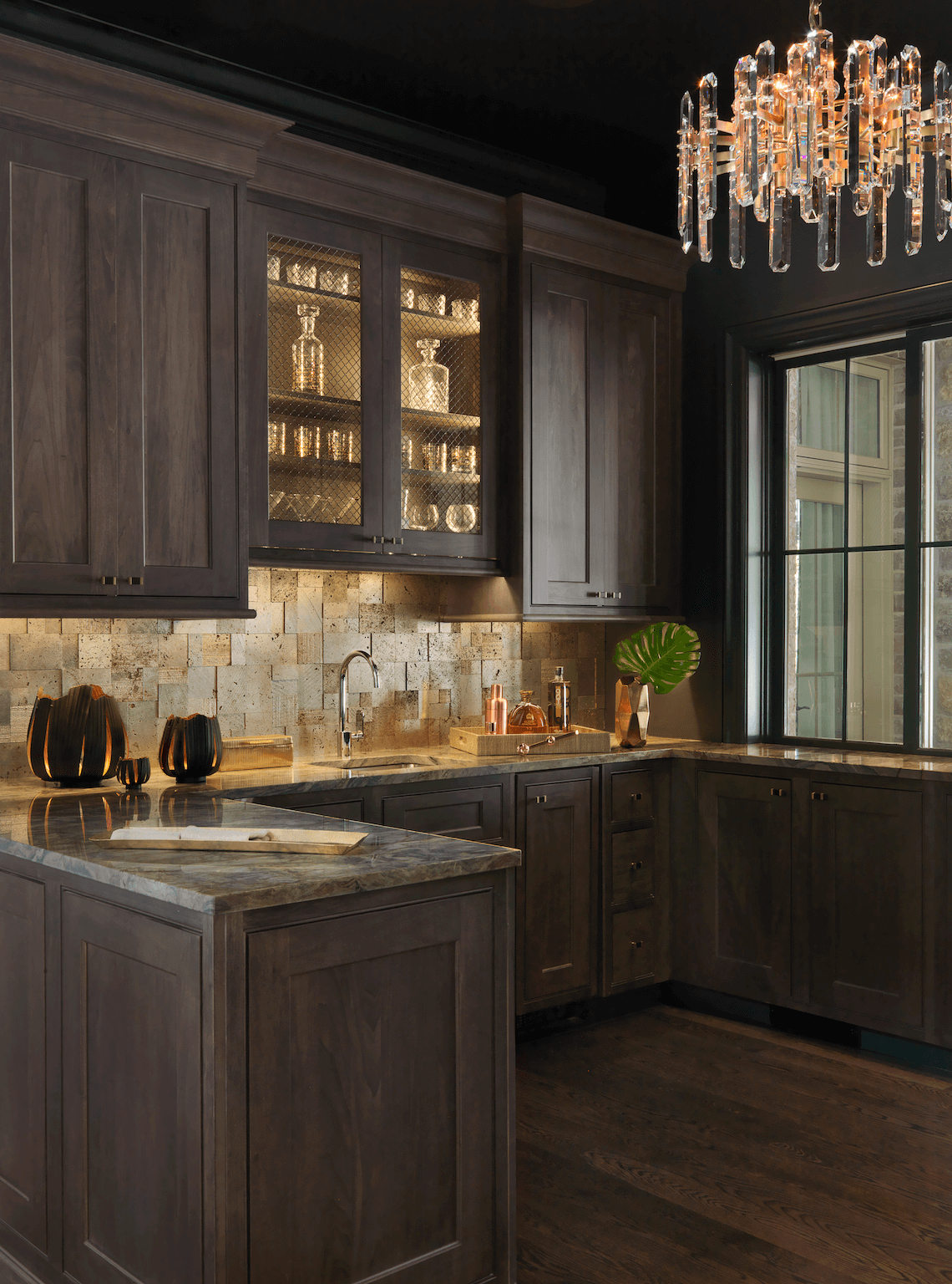 Beau Wet Bar Design Ideas | Beck_Allen Cabinetry And ADJ Interiors