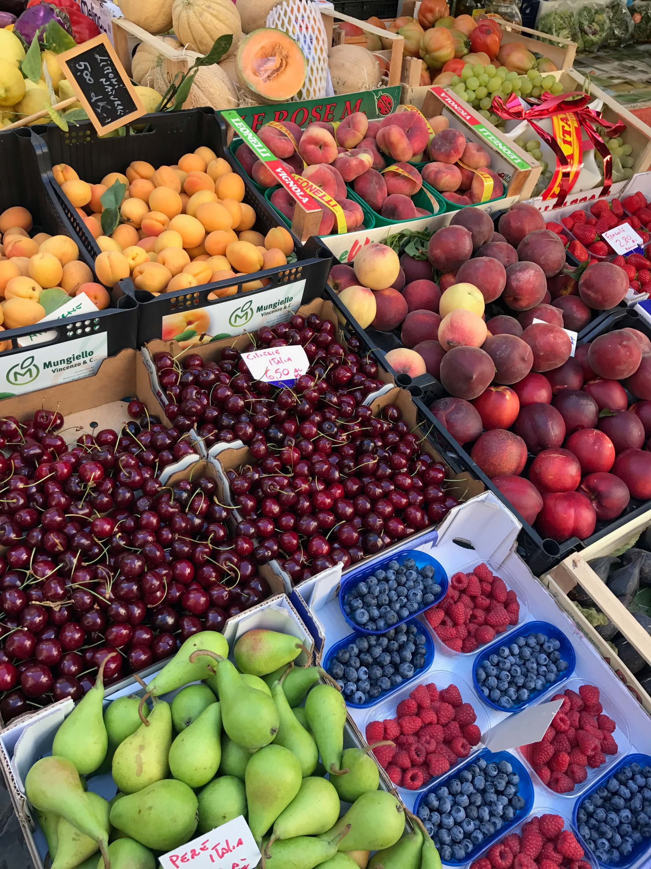 Fruit Market in Northern Italy