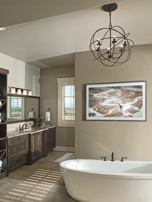 The Frame TV by Samsung - Bathroom Design Ideas