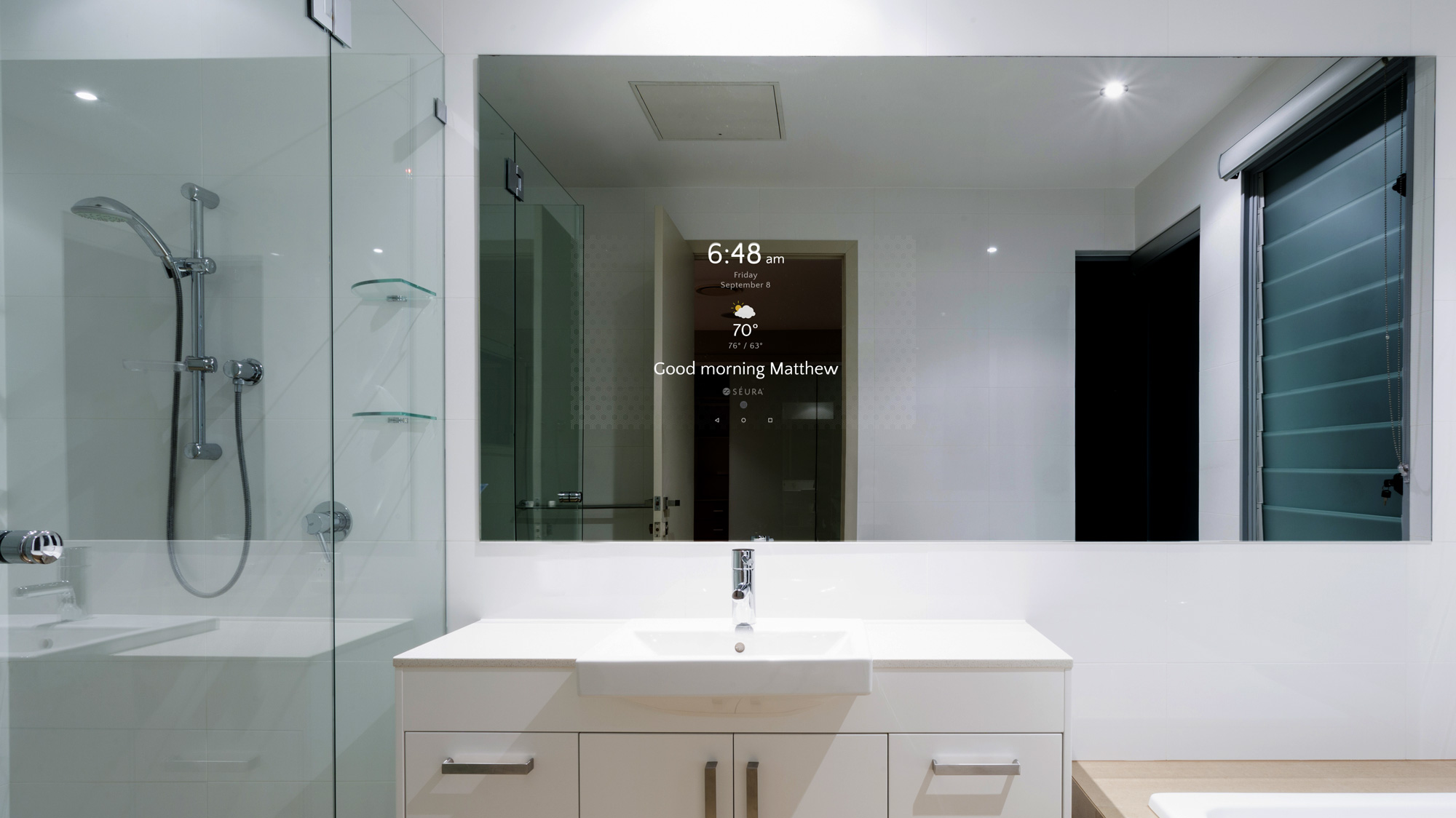 The S Ura Smart Mirror Interior Design Center Of St Louis Mo Interior Design Center Of St
