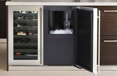 Drawer Houses Both An Ice Maker And Freezer Undercounter Liances Uline Wine Captain