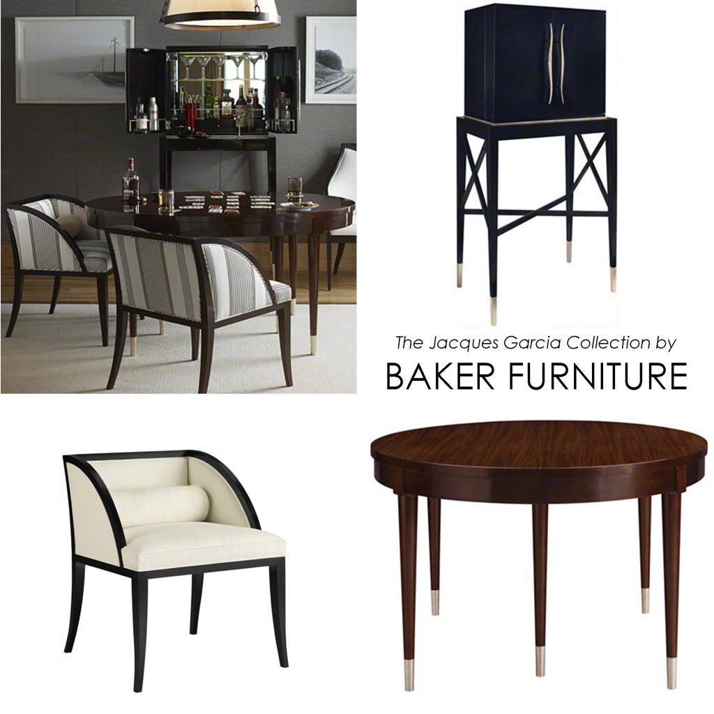 Dining Table And Chair Jacques Garcia Collection Modern Elegance Baker Furniture