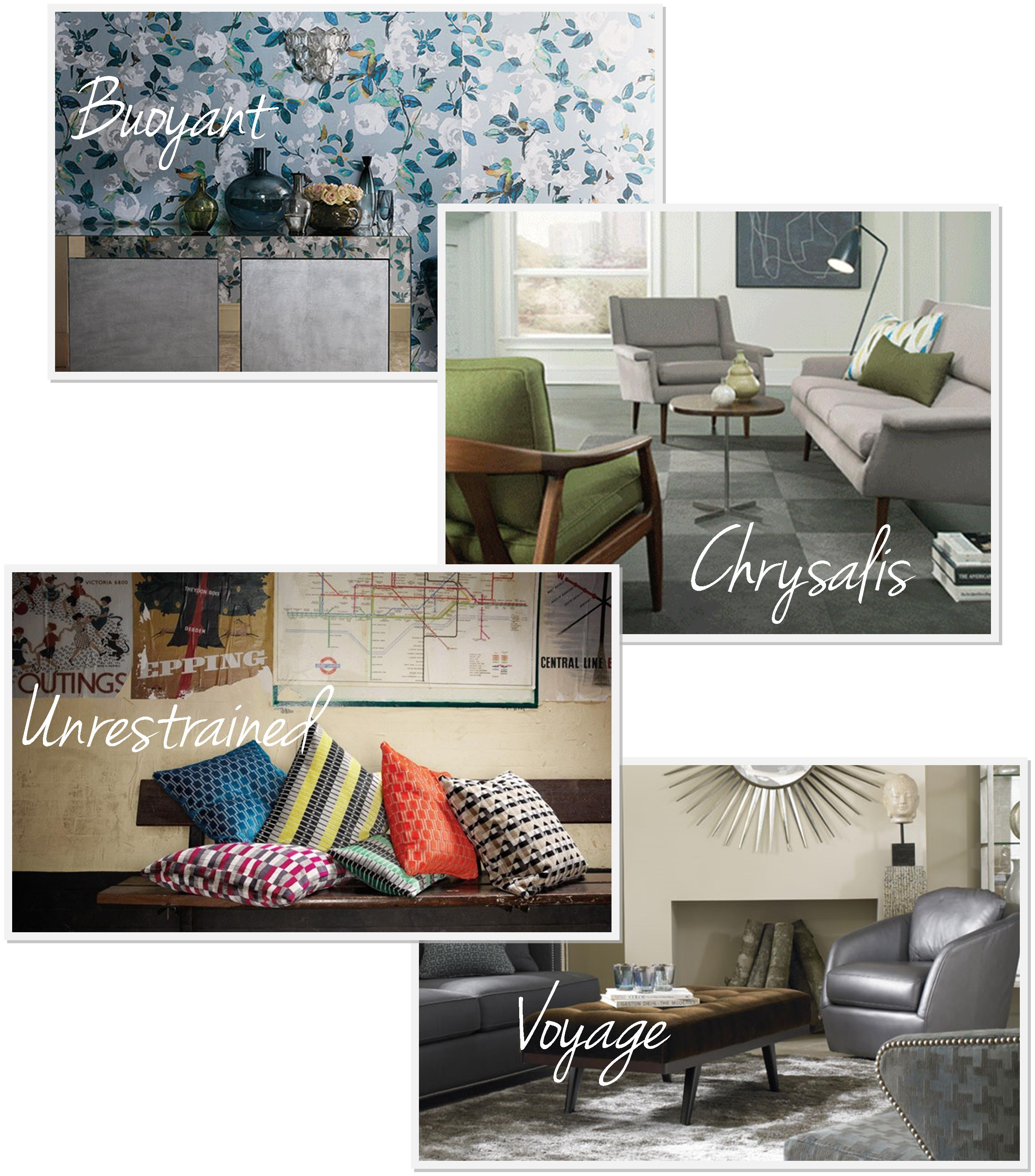 Sherwin Williams Color Forecast 2017 Buoyant Chrysalis Unrestrained And Voyage