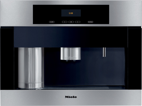 Miele Built In Coffe Machine On Display At Autcohome