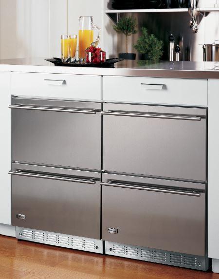 Undercounter Liances Refrigerator Drawers From Ge Monogram