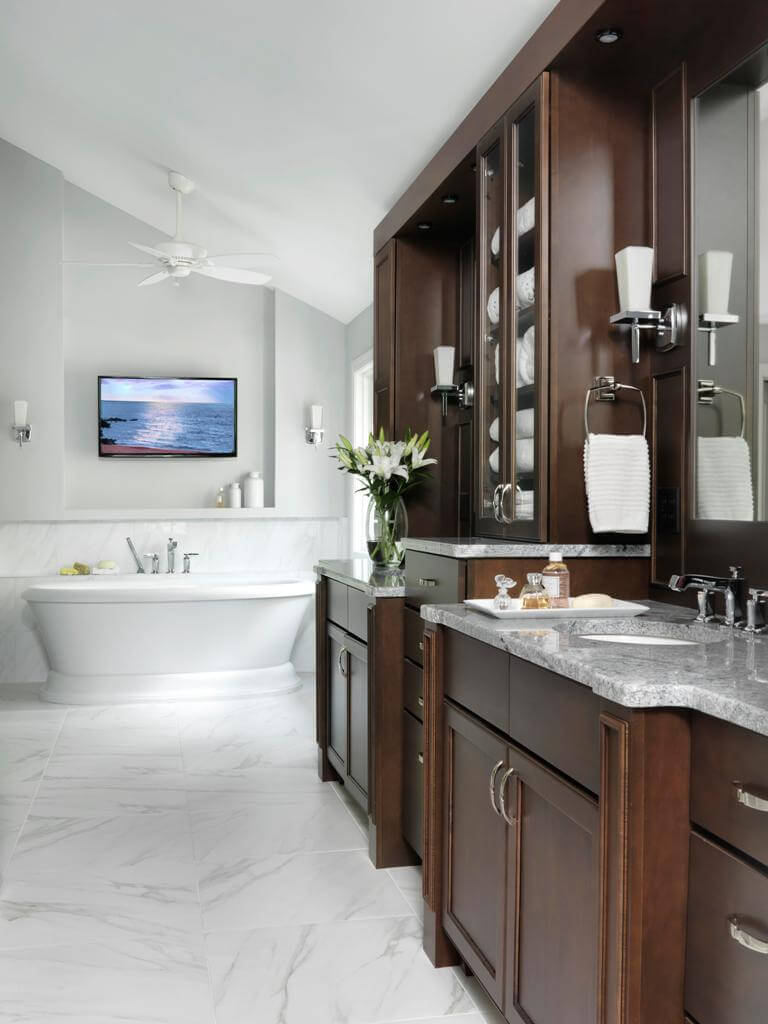 Traditional Master Bathroom by Beck/Allen Cabinetry