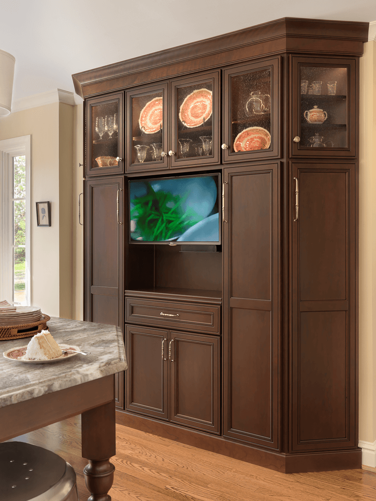 tv kitchen cabinet traditional with a twist interior design center of st 27356