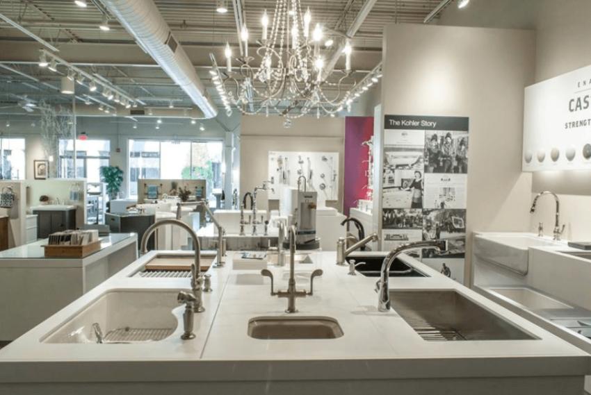 Kohler Display at Premier Plumbing Studio
