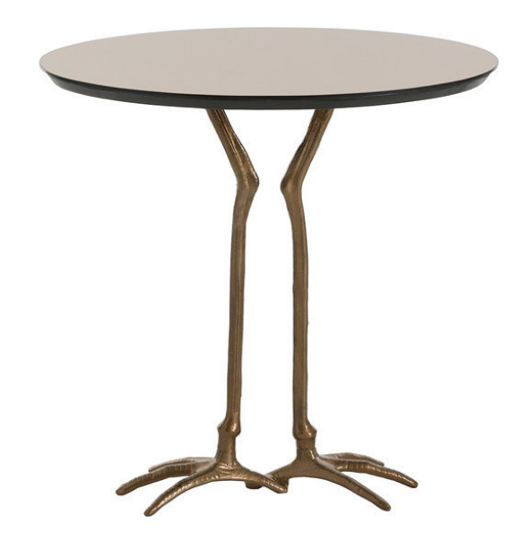 Accent Table with Bird Legs