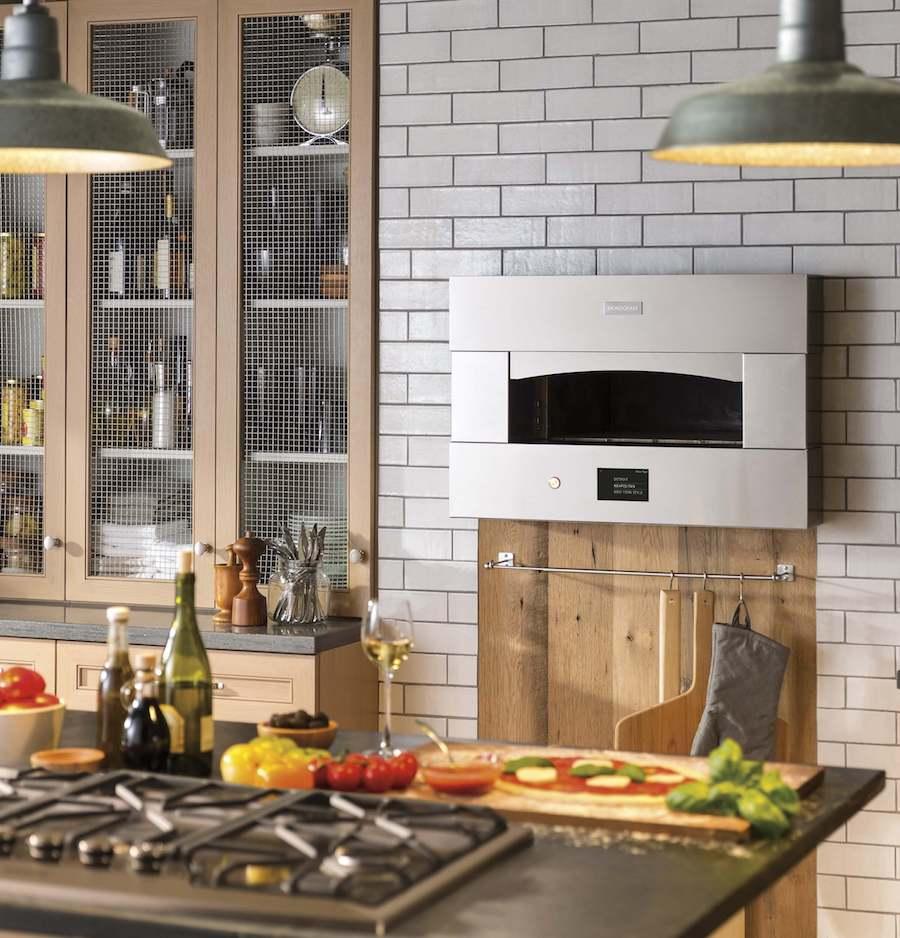 GE Monogram Pizza Oven