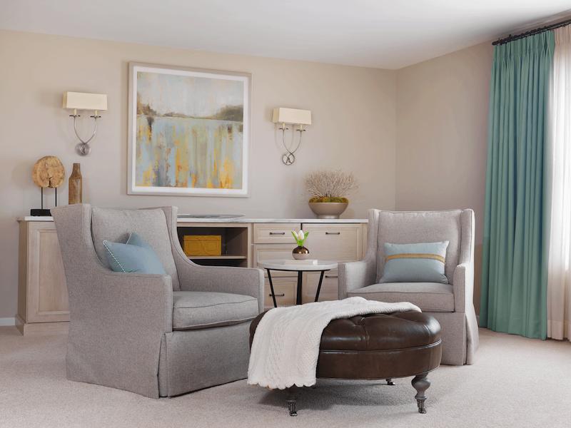 Master Bedroom, Morning Bar - K Taylor Design Group