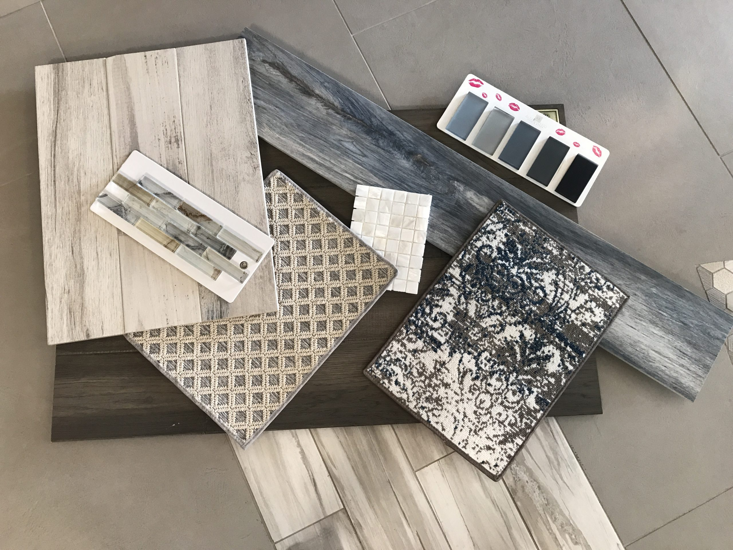Flooring Ideas: Carpet and Tile